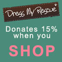 Dress My Rescue donates 15% when you shop